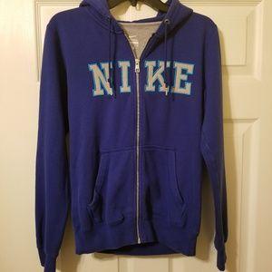 Nike full zip hoodie size small